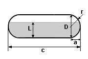 Tanque Cilíndrico Horiz. de Extremidades Esféricas